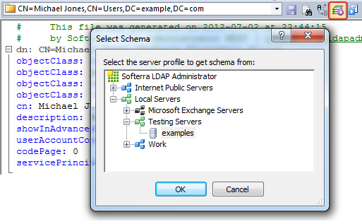 Extending LDIF Editor IntelliSense with Schema Attributes